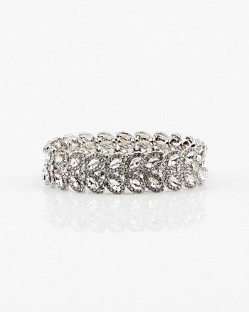 Bracelet extensible à pierres