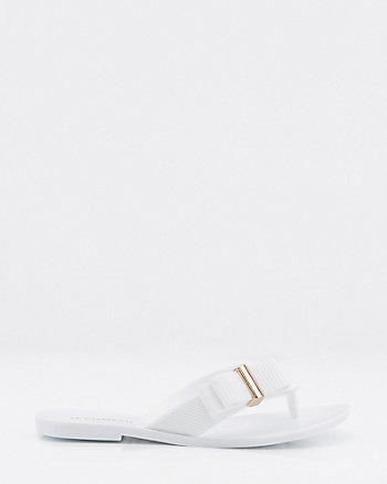 Jelly Bow Flip Flop Sandal