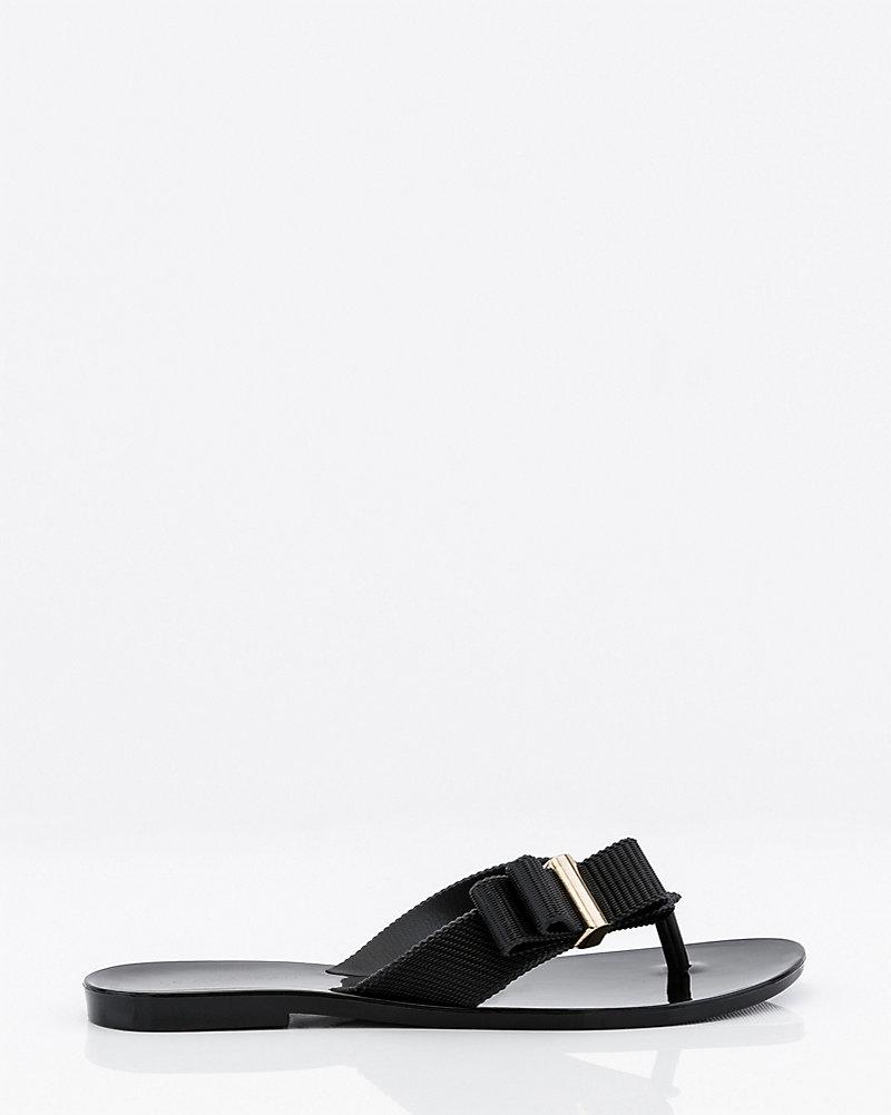 90fca075b006 Jelly Bow Flip Flop Sandal
