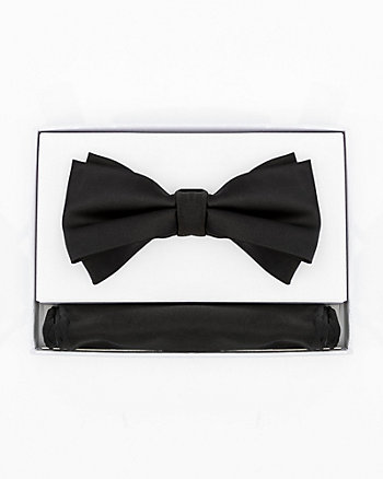 Triangle Bow Tie & Pocket Square Set