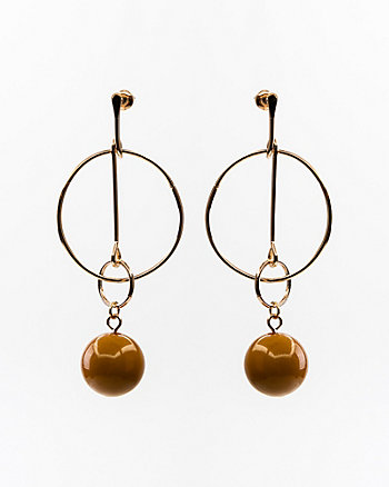 Circle & Ball Earrings