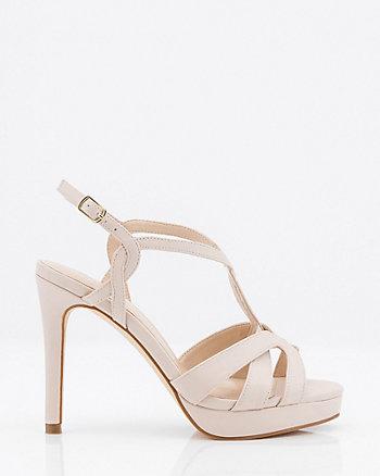 Sandale à bride en T