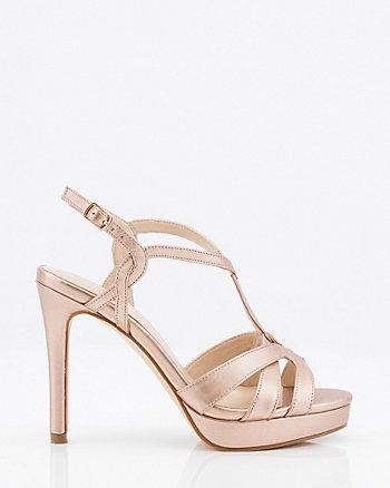 Open Toe T-Strap Sandal