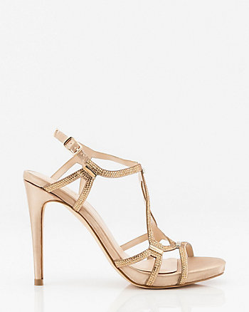 b07e672663 Evening Wear Party Shoes | Jewel Embellished | Sandals | Block Heels ...