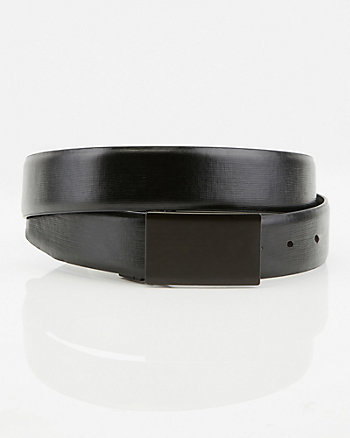 Leather-Like Reversible Belt