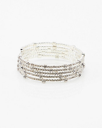 Gem Coil Wrap Bracelet