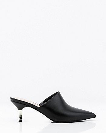 Pointy Toe Mule