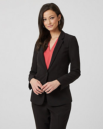 Washable Bi-Stretch Tailored Blazer