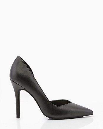 Pointy Toe Half d'Orsay Pump