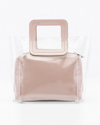 Patent Pouch & Transparent Tote