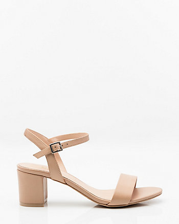 Leather Open Toe Sandal
