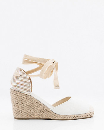 Almond Toe Wedge Espadrille