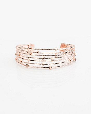Metal Coil Bracelet