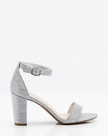 Open Toe Block Heel Sandal