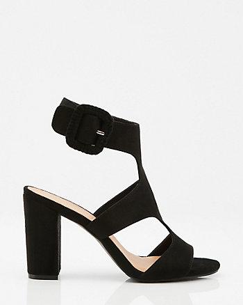 Open Toe Cutout Sandal