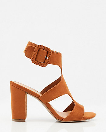 Open Toe Cutout Sandal