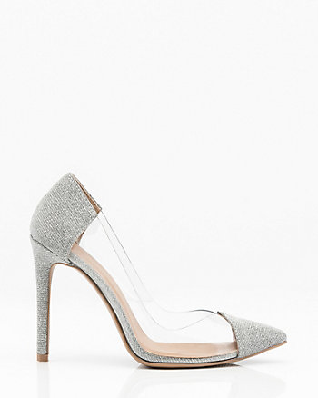 Pointy Toe Transparent Pump