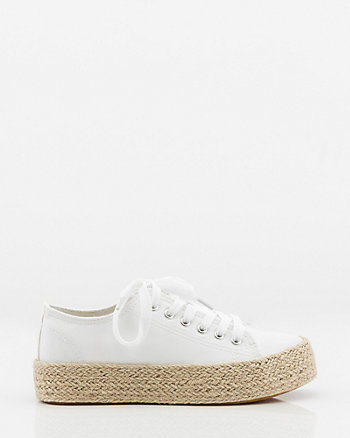 Lace-Up Espadrille Sneaker