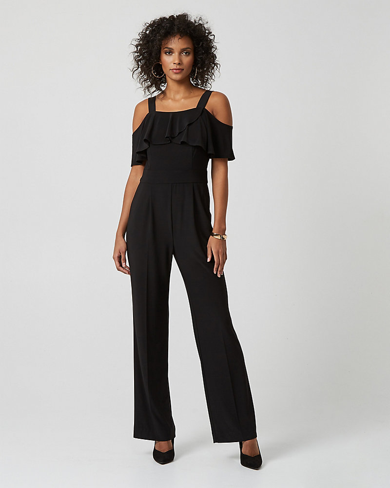 919c029605 YOU MAY ALSO LIKE. Previous. image Made in Canada. Knit Crêpe Slim Leg  Jumpsuit