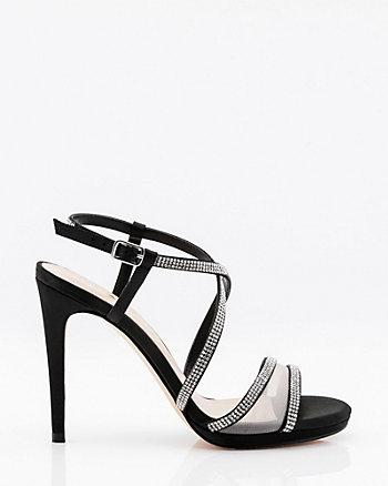Jewel Embellished Strappy Platform Sandal