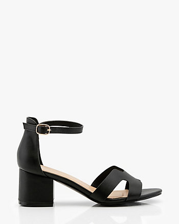 81b79a066 Block Heel Ankle Strap Sandal