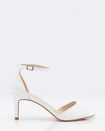 Peep Toe Ankle Strap Sandal
