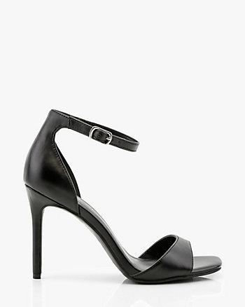 Metallic Open Toe Sandal