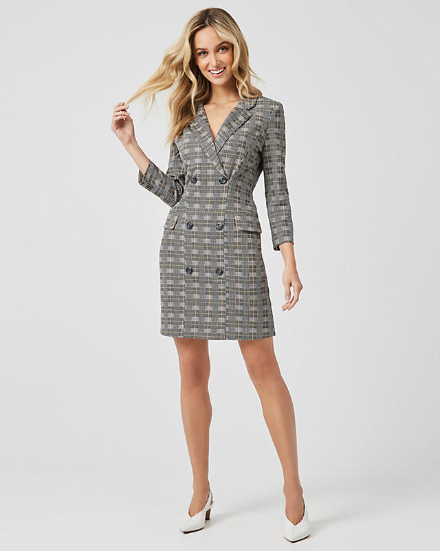 f33f59158852 Swiss Dot Print Crêpe de Chine V-Neck Flowy Dress