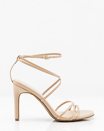 75a8bf1d7 Patent Strappy Sandal