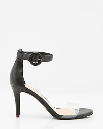 Open Toe Transparent Sandal