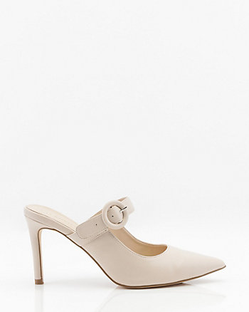 Pointy Toe Mary Jane Mule