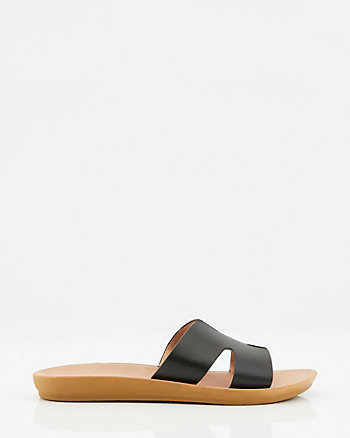 Cutout Slide Sandal