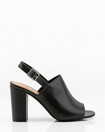 6c2d5717ea055c Peep Toe Slingback Sandal