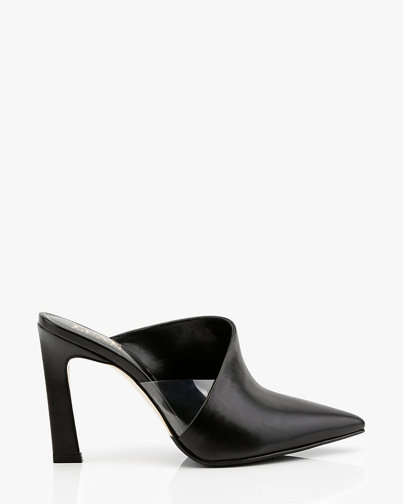 a66a7691bd6 Italian-Made Leather Pointy Toe Mule