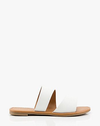Asymmetrical Slide Sandal