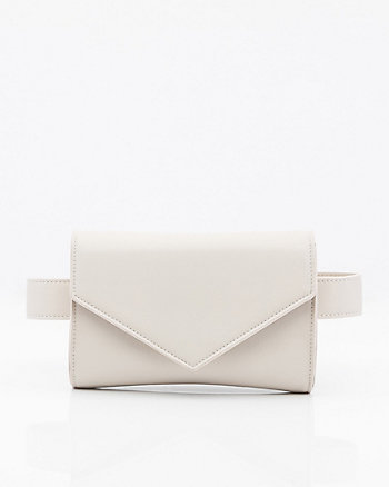 Leather-Like Belt Bag