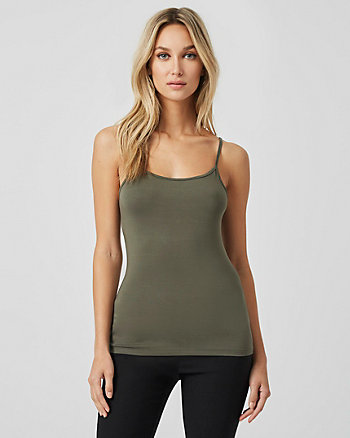 Knit Scoop Neck Tank