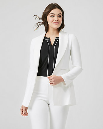 Viscose Blend Tailored Blazer