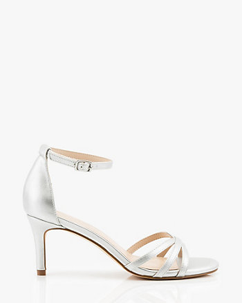 Criss-Cross Open Toe Sandal