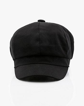 Woven Baker Boy Hat