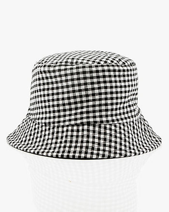 Reversible Printed Cotton Bucket Hat