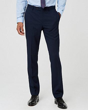 Viscose Blend Straight Leg Pant