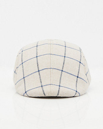Windowpane Check Ivy Cap