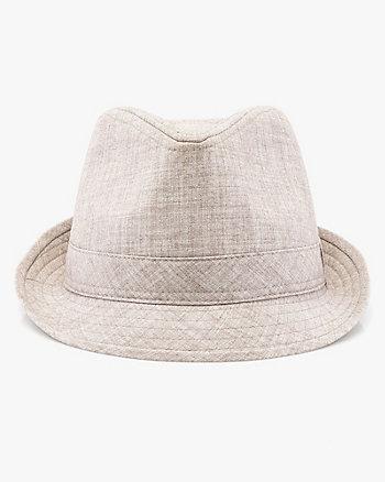 Twill Fedora Hat
