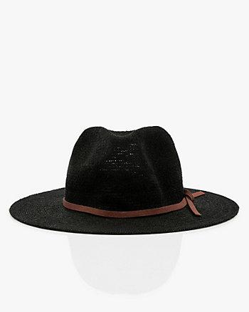 Burlap Cowboy Hat