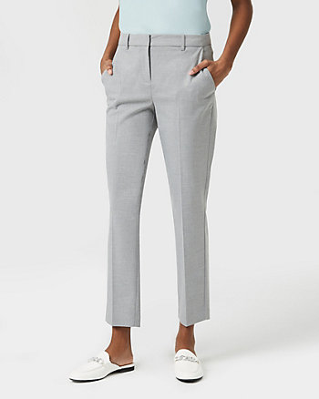 Viscose Blend Tapered Leg Pant