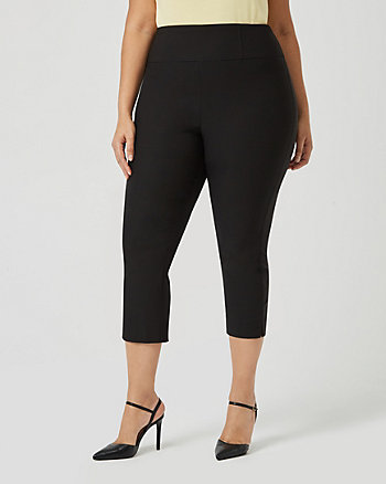 Stretch Skinny Leg Cropped Pant