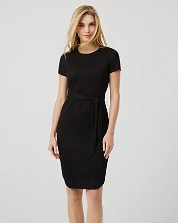 Jersey Waist Tie T-Shirt Dress