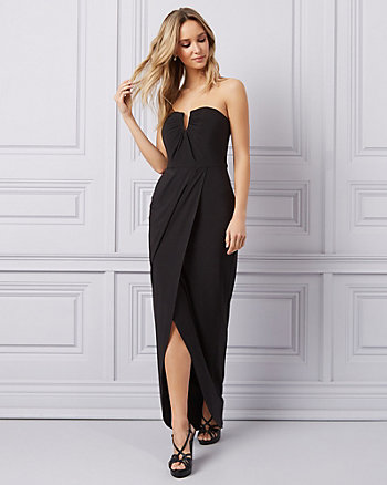 abb10e8771d Knit Strapless Gown