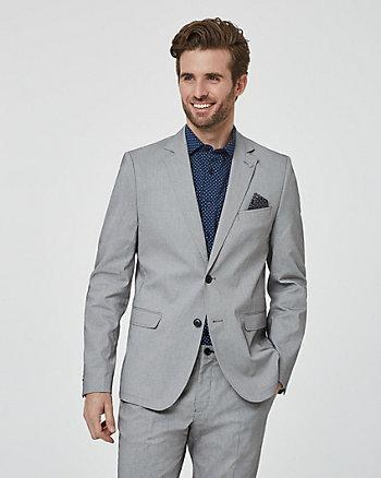 Twill Slim Fit Blazer